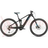 Bicicleta Cube Stereo Hybrid 120 Race 500 29' black/blue 2020