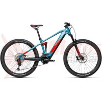 Bicicleta Cube Stereo Hybrid 120 Race 625 27.5' Blue/Red 2021