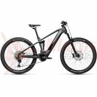 Bicicleta Cube Stereo Hybrid 120 Race 625 27.5' Iridium/Black 2021
