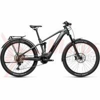 Bicicleta Cube Stereo Hybrid 120 Race 625 Allroad 27.5' Iridium/Black 2021