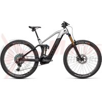 Bicicleta Cube Stereo Hybrid 140 HPC SLT 625  27.5' KIOX Carbon Prizmsilver 2021