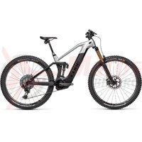 Bicicleta Cube Stereo Hybrid 140 HPC SLT 625  29' KIOX Carbon/Prizmsilver 2021