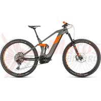 Bicicleta Cube Stereo Hybrid 140 HPC TM 625 29 grey/orange 2020