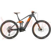 Bicicleta Cube stereo Hybrid 160 HPC TM 625 27.5 grey/orange 2020