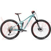Bicicleta Cube Sting WS 120 Pro 27.5' iridium/berry 2018