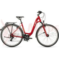 Bicicleta Cube Touring Easy Entry Darkred/Grey 2021