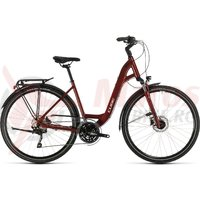 Bicicleta Cube Touring EXC Easy Entry Red/Grey