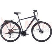 Bicicleta Cube Touring EXC Iridium/Silver