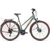 Bicicleta Cube Touring EXC Trapeze Greenblue/Bluegreen 2021