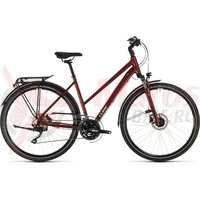 Bicicleta Cube Touring EXC Trapeze Red/Grey 2020