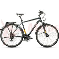 Bicicleta Cube Touring Grey/Yellow 28' 2021