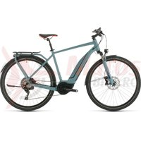 Bicicleta Cube Touring Hybrid EXC 500 blue/orange 2020