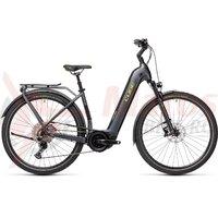 Bicicleta Cube Touring Hybrid EXC 500 Easy Entry Iridium/Green 2021
