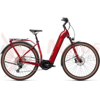 Bicicleta Cube Touring Hybrid EXC 500 Easy Entry Red/Grey  2021