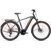 Bicicleta Cube Touring Hybrid EXC 500 Iridium/Green 2021