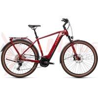 Bicicleta Cube Touring Hybrid EXC 625 Red/Grey 2021