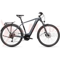 Bicicleta Cube Touring Hybrid One 400 Grey/Black 2021