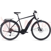 Bicicleta Cube Touring Hybrid One 500 Black/Blue 2020