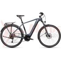 Bicicleta Cube Touring Hybrid One 500 Grey/Black 2021