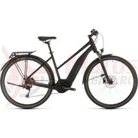 Bicicleta Cube Touring Hybrid One 500 Trapeze Black/Blue 2020