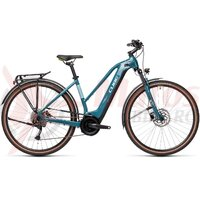 Bicicleta Cube Touring Hybrid One 500 Trapeze Blue/Green 2021