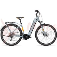 Bicicleta Cube Touring Hybrid Pro 500 Easy Entry Grey/Orange 2021