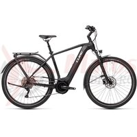 Bicicleta Cube Touring Hybrid Pro 625 Black/White 2021