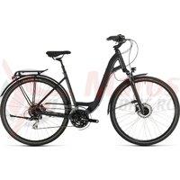 Bicicleta Cube Touring One Easy Entry Iridium/Red 2020