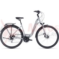 Bicicleta Cube Touring Pro Easy Entry Grey/Orange 2020
