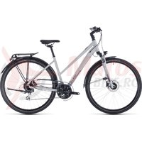 Bicicleta Cube Touring Pro Trapeze Grey/Orange 2020