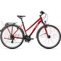 Bicicleta Cube Touring Trapeze Darkred/Grey 28' 2021