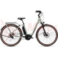 Bicicleta Cube Town Hybrid EXC 500 Easy Entry Lunar/Grey  2021