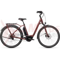 Bicicleta Cube Town Hybrid Pro 500 Easy Entry Red/Red 2021