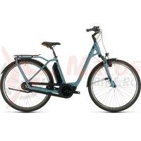 Bicicleta Cube Town Hybrid Pro RT 500 Easy Entry blue/blue 2020