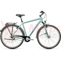 Bicicleta Cube Town Pro Blue/Grey 28' 2021