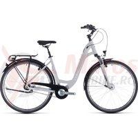 Bicicleta Cube Town Pro Easy Entry Grey/White