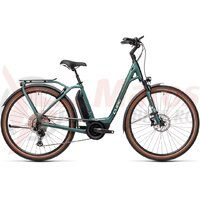 Bicicleta Cube Town Sport Hybrid EXC 500 Easy Entry Green/Green 2021
