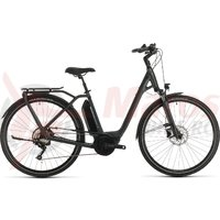 Bicicleta Cube Town Sport Hybrid Pro 400 Easy Entry Iridium/Red 2020