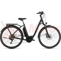 Bicicleta Cube Town Sport Hybrid Pro 500 Easy Entry iridium/red 2020