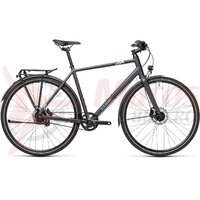 Bicicleta Cube Travel EXC Iridium/Blue 2021