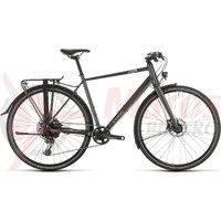 Bicicleta Cube Travel Sport Iridium/Green 2020
