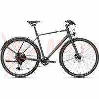 Bicicleta Cube Travel Sport Iridium/Green 2021
