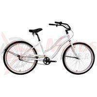 Bicicleta Devron Lady Urbio LU2.6 alba 2016
