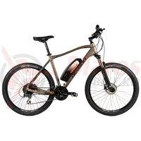 Bicicleta Devron Riddle M1.7 E-Bike 27.5' gri mat 2019