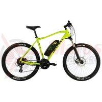 Bicicleta Devron Riddle M1.7 E-Bike 27.5' neon 2019