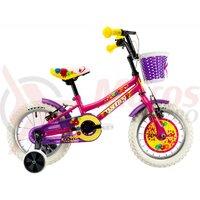 Bicicleta DHS 1404 roz 14' 2019