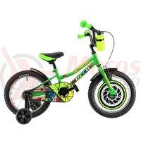 Bicicleta DHS 1601 verde 2019