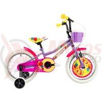 Bicicleta DHS 1602 Kids violet 2019