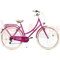 Bicicleta DHS Citadinne 2834 roz 2019