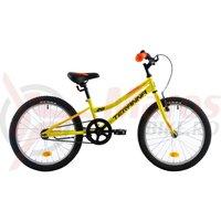 Bicicleta DHS Junior Terrana 2001 galbena 2018